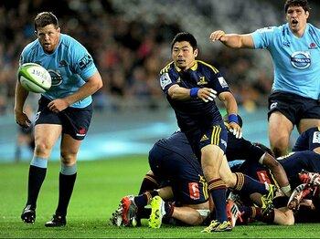 """世界最強リーグに日本が入るまで。スーパーラグビーは""""魔法の杖""""か。<Number Web> photograph by AFLO"""