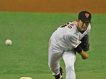 """巨人・菅野智之も陥った""""魔球""""の罠。シーム系の変化球に潜む危険とは?<Number Web> photograph by Nanae Suzuki"""