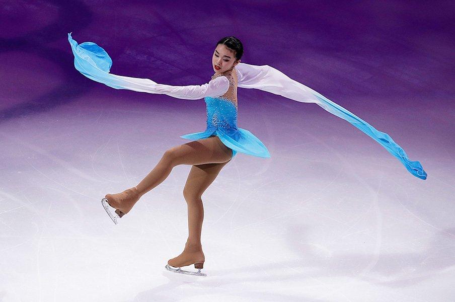 全米フィギュアの女子もチェン!?新女王は中国系米国人で、まだ17歳。<Number Web> photograph by AFLO