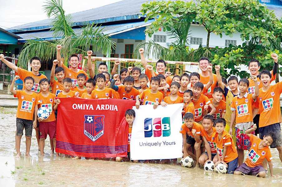 大宮のサッカー教室がアジアに届けたスマイル秘話。~裸足の子供たちとのガチ試合~<Number Web> photograph by OMIYA ARDIJA
