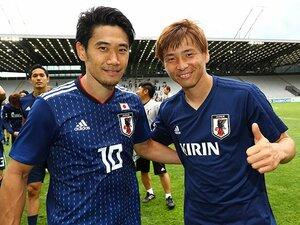 ゴールデンコンビが出会って10年。香川真司&乾貴士はW杯で再び輝く。