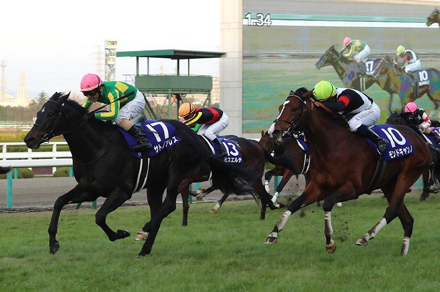 勝ちあがりに2戦かかった馬が朝日杯を制するのは2003年のコスモサンビーム以来。ここから、サトノアレスはどう育つのだろうか。