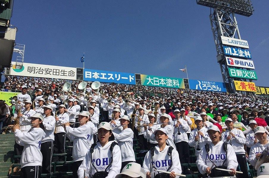今年のセンバツは名曲だらけ!ブラバン応援、注目の12校を紹介。<Number Web> photograph by Yukiko Umetsu