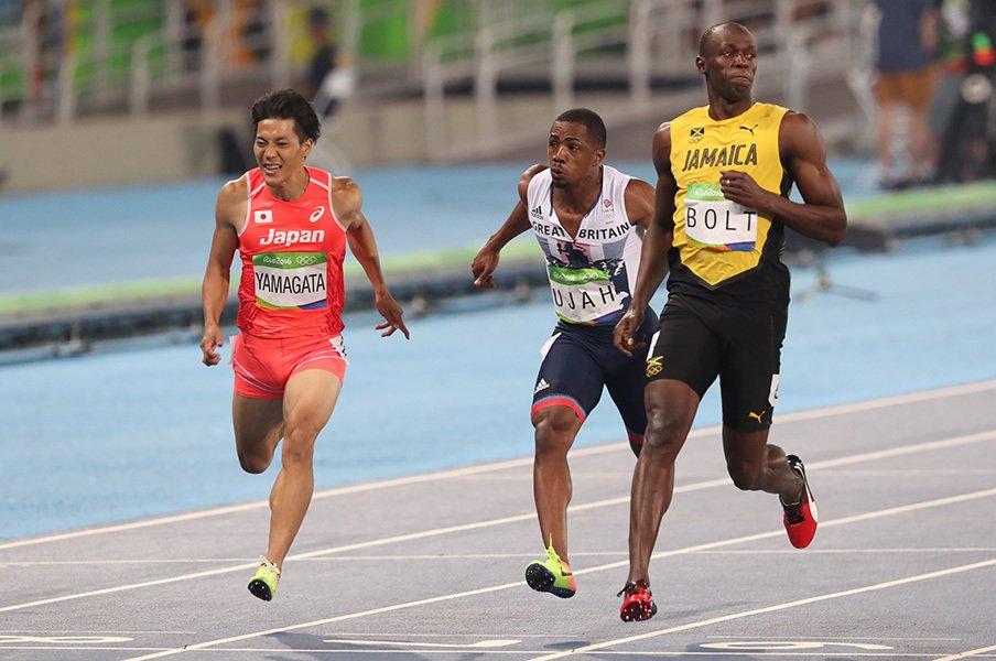 """日本人初の9秒台、決勝進出かなわず。100m走""""最強の3人""""に欠けたもの。<Number Web> photograph by JMPA"""