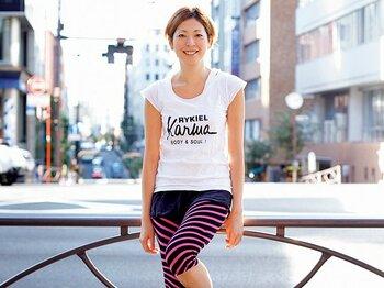 <私とラン> 市民ランナー・柴田雅子 「ランは願いを叶えるおまじない」<Number Web> photograph by Asami Enomoto