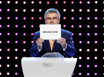 浮き彫りになる候補地選考の問題点。'22年北京冬季五輪、混迷の道程。<Number Web> photograph by AFLO