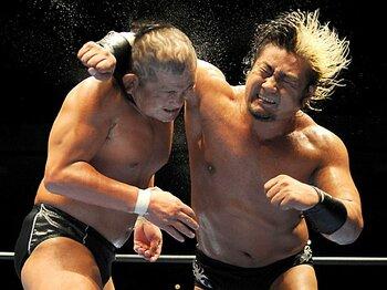 諏訪魔3冠王座奪回で、来るか、全日本「新時代」。<Number Web> photograph by NIKKAN SPORTS