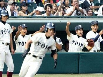 選抜優勝校がまだまだ「成長」途上!?大阪桐蔭が見せた、さらなる伸びしろ。<Number Web> photograph by Kyodo News