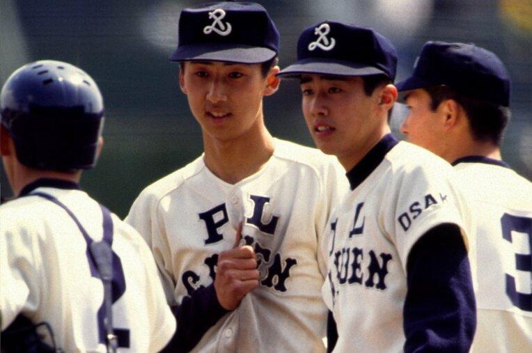 今岡誠/PL学園 / photograph by Katsuro Okazawa/AFLO