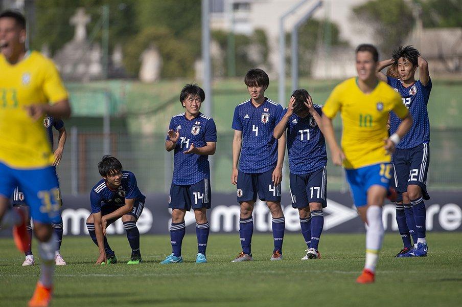 トゥーロン準優勝が日本に残すもの。「本気のブラジル」に挑んだ勇敢さ。<Number Web> photograph by Getty Images
