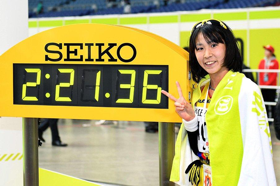 東京五輪マラソンのメダルは可能か。平均は上がれどトップが伸びず……。<Number Web> photograph by Kyodo News
