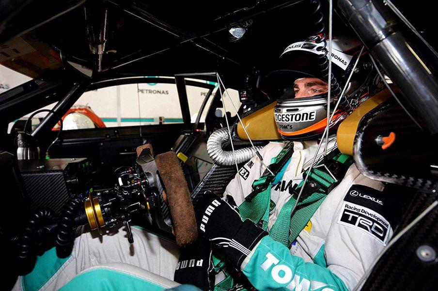 レーシングカーのコックピットがどれだけ過酷か、知ってる?<Number Web> photograph by TOYOTA