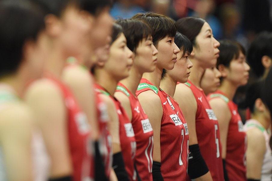 バレーW杯で苦戦した中田ジャパン。浮き彫りになった「間」の重要性。<Number Web> photograph by Itaru Chiba