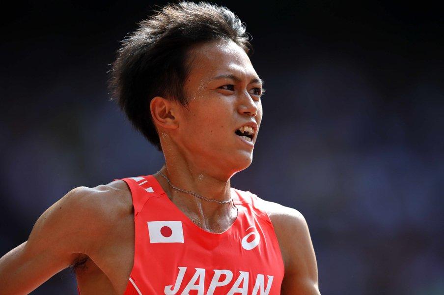 大迫傑の5000m予選敗退は快挙だ!日本人が苦しんだ「中間走」を克服。<Number Web> photograph by PHOTO KISHIMOTO