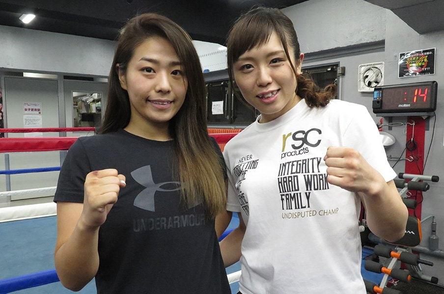 女子ボクシング界に変革の時が……。2人の逸材、谷山佳菜子と千本瑞規。<Number Web> photograph by Koji Fuse