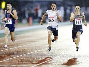 山縣、桐生、ケンブリッジ以外も精鋭。4×100mリレー、日本新と表彰台を。