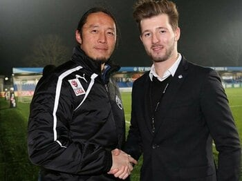 元浦和コーチ・モラス雅輝の決断。オーストリア2部のコーチに就任。<Number Web> photograph by SV Horn