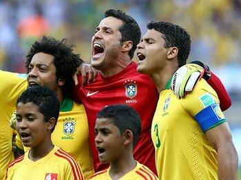 チアゴ・シウバが語る母国でのW杯。「今のブラジルは世界最高ではない」<Number Web> photograph by Getty Images