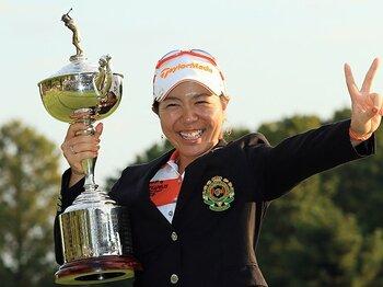 次々に才能が開花する、日本女子ゴルフの土壌。~世界に通用するための育成~<Number Web> photograph by Taku Miyamoto