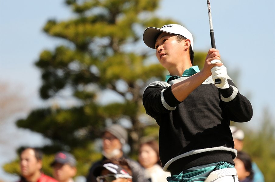 ゴルフ界のホープ、22歳の星野陸也。目指すは賞金王、PGA、東京五輪。<Number Web> photograph by Yoichi Katsuragawa