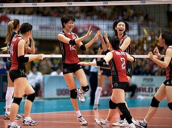 <ロス五輪以来の表彰台を目指して> バレーボール女子日本代表 「メダルへのラストピース」<Number Web> photograph by Michi Ishijima