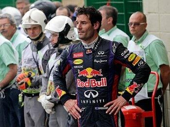 レッドブルで疎外感と戦った4年間。F1引退のウェバーが涙を見せた理由。<Number Web> photograph by AP/AFLO