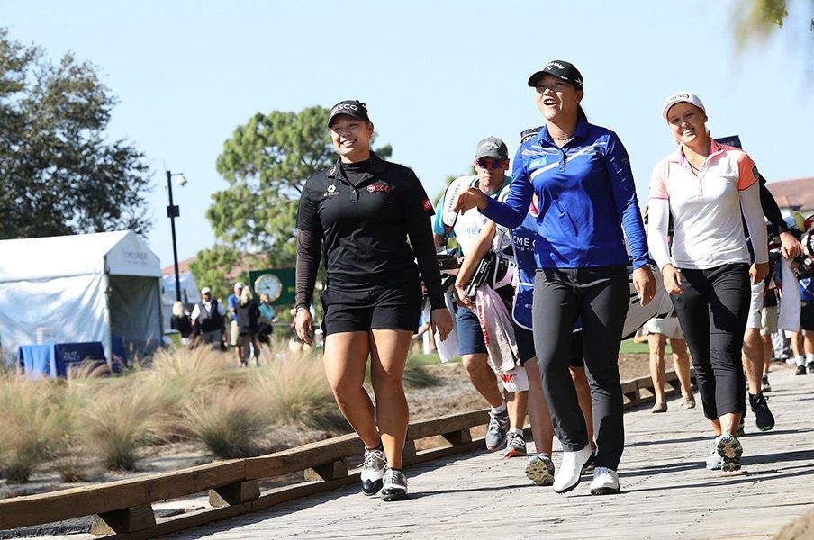 20歳そこそこの選手が上位独占!米女子ゴルフ界で起こる革命とは。<Number Web> photograph by Shizuka Minami