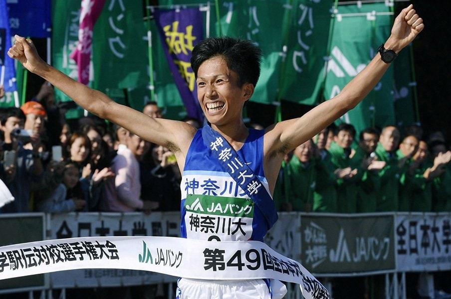「3強」は青学大、神奈川大、東海大だが……。今季の箱根駅伝は、どの大学も面白い!<Number Web> photograph by Kyodo News