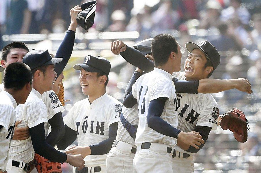 大阪桐蔭との戦いはボディーに効く。「終盤に絶対点が入る」暗示の根拠。<Number Web> photograph by Kyodo News