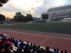 箱根を走れるかどうかの天王山。学連の記録会で勝った者、敗れた者。