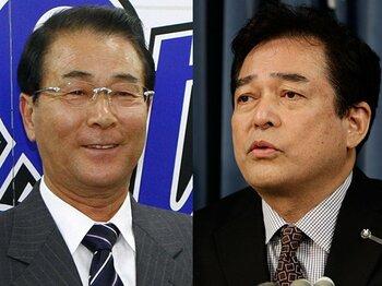 """""""日本的GM""""とはどうあるべきか?巨人・横浜の騒動で考えるGM像。<Number Web> photograph by Shiro Miyake(L)/KYODO"""