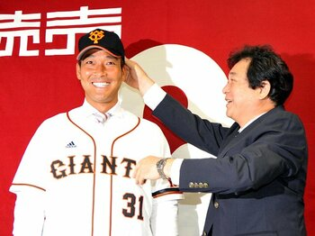 選手の運命を変える頭部死球――。高橋信二は巨人で復活できるか?<Number Web> photograph by NIKKAN SPORTS