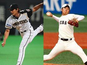 NPB選抜vs.大学代表の試合に見た、ダルと斎藤の「谷間世代」の悩み。