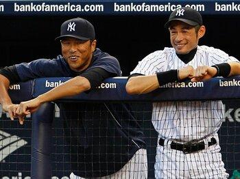 主力選手に故障が相次ぐヤンキース。チームの命運は、黒田とイチローに!<Number Web> photograph by REUTERS/AFLO