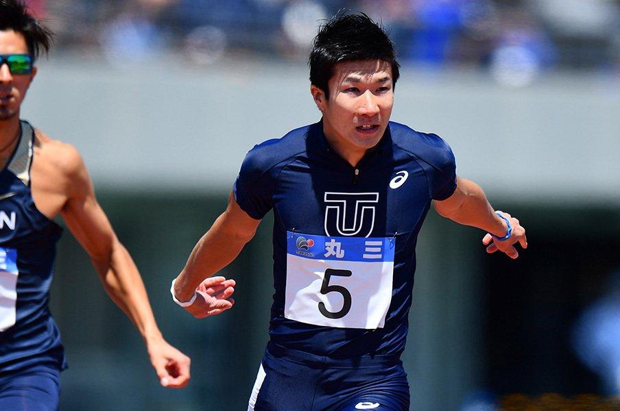 男子100mをめぐる9秒台狂想曲。本気の桐生、のんびりケンブリッジ。<Number Web> photograph by AFLO