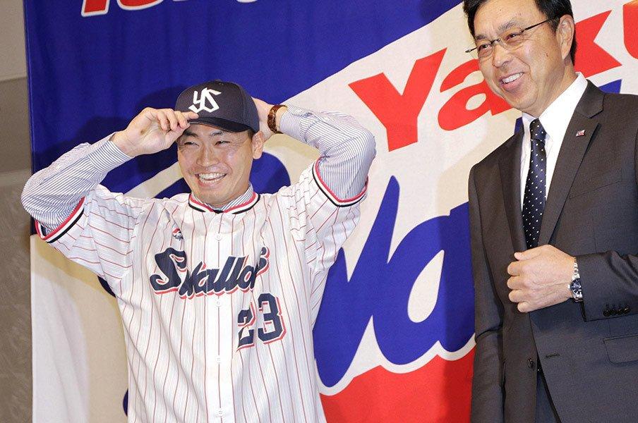 青木宣親の挑戦が残した功績とは。肉体の違いに抗ったメジャー6年間。<Number Web> photograph by Kyodo News
