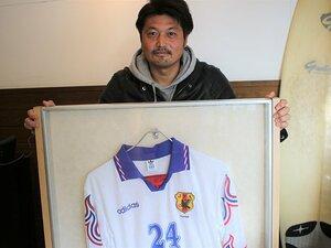 代表より鹿島を優先した増田忠俊。「でも、1キャップに感謝しようと」