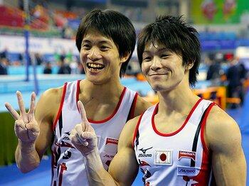 内村航平、大本命が実力通りの金。日本歴代最多に並ぶ15個目のメダル。<Number Web> photograph by AFLO