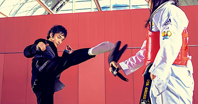 新しい地図・草なぎ剛×パラテコンドー 太田渉子が目指す渾身の回し蹴り【パラスキー銀メダリストの転身】