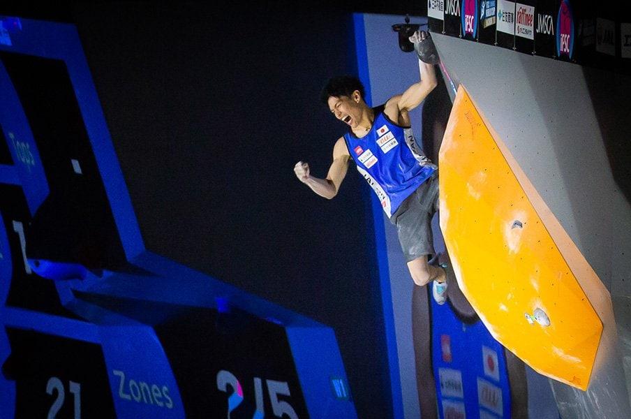 東京五輪クライミングを本気で予想。男子は金メダル本命、女子は対抗か。<Number Web> photograph by Kenichi Moriyama