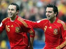 珍しくひとつになったスペイン代表。