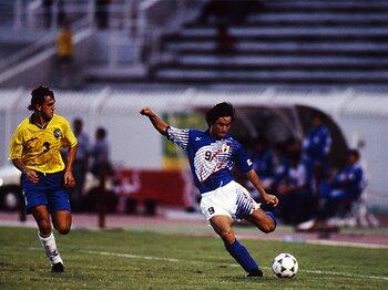 平成日本サッカーの夜明け(3)1995年のワールドユースが変えた物。<Number Web> photograph by AFLO