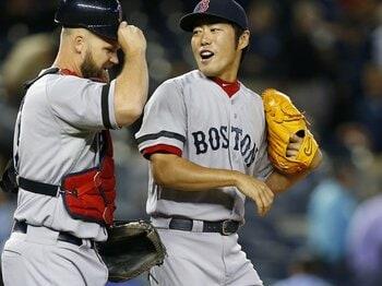 上原の快投とボストンの勤勉。~レッドソックス快進撃の理由~<Number Web> photograph by Getty Images