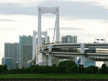 夏休みだ! お台場だ! だけど、レインボーブリッジが渡れない。<Number Web> photograph by Satoshi Hikita