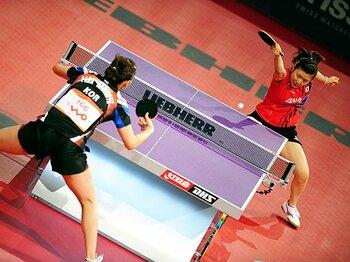中国の強さが際立った世界卓球。日本はリオ五輪に向けて仕切り直し!?<Number Web> photograph by PanoramiC/AFLO