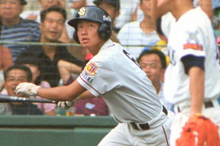 鳥谷敬/聖望学園 / photograph by Kyodo News