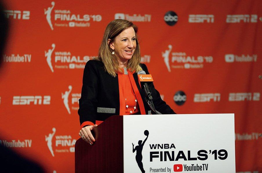 WNBAが画期的な労使協定合意。魅力あるリーグ作りと成功の土台を。~女子バスケ待遇改善への賭け~<Number Web> photograph by Getty Images