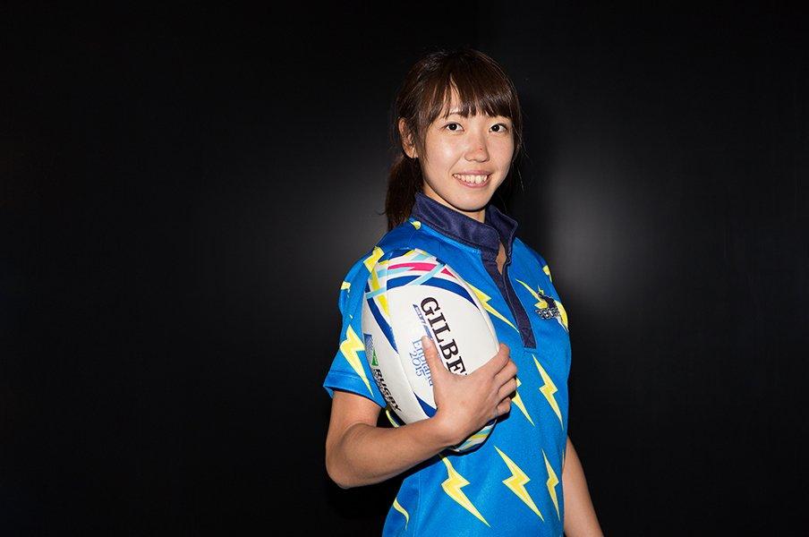 東京フェニックスというクラブチームに所属する寺田。サクラセブンズの起爆剤になれるか?