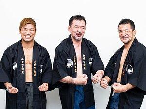 桜庭和志、所英男、中村大介の挑戦。映画の声優に「最後はノリノリ」。