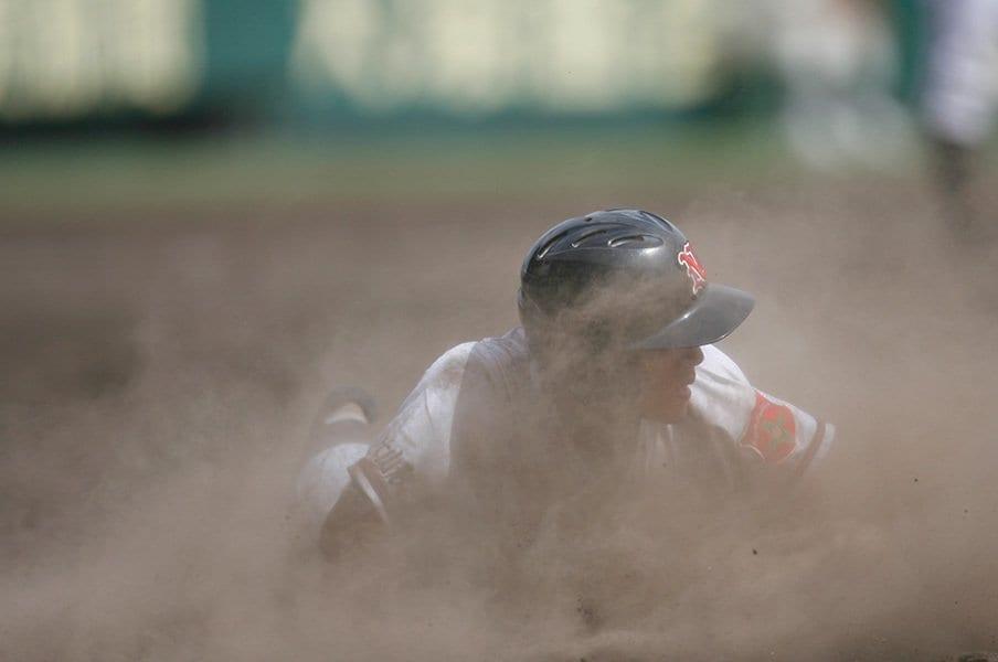 周囲の刺すような視線に耐えて……。高校球児が最初に試される能力は?<Number Web> photograph by Naoya Sanuki